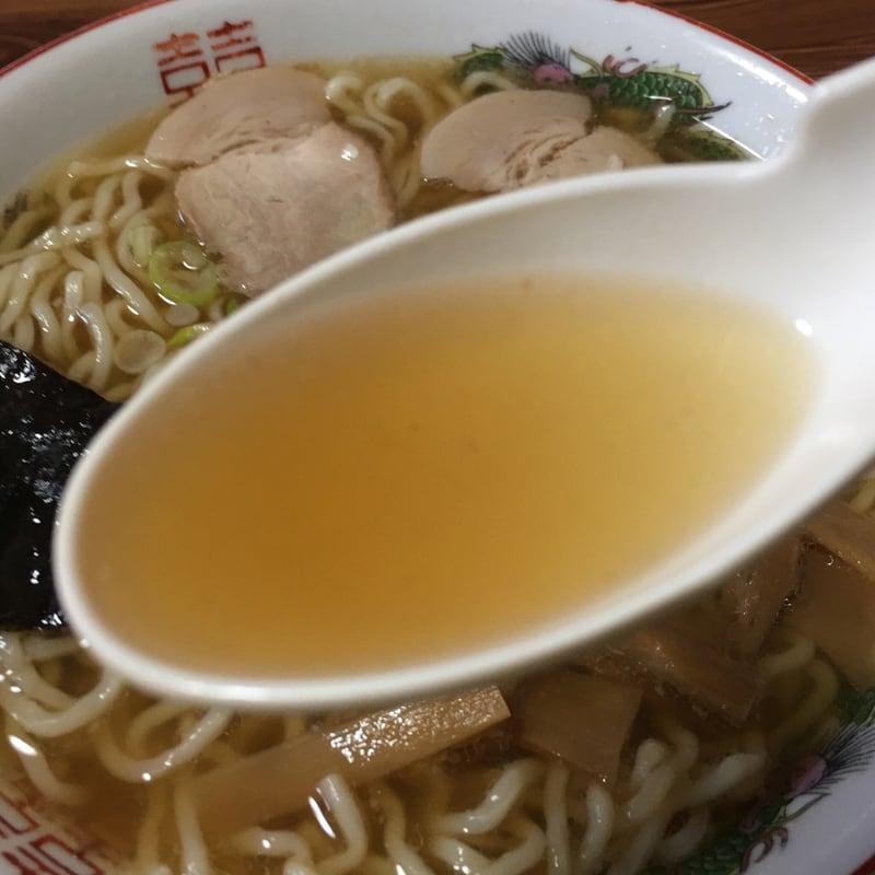 金次屋 中華そば スープ