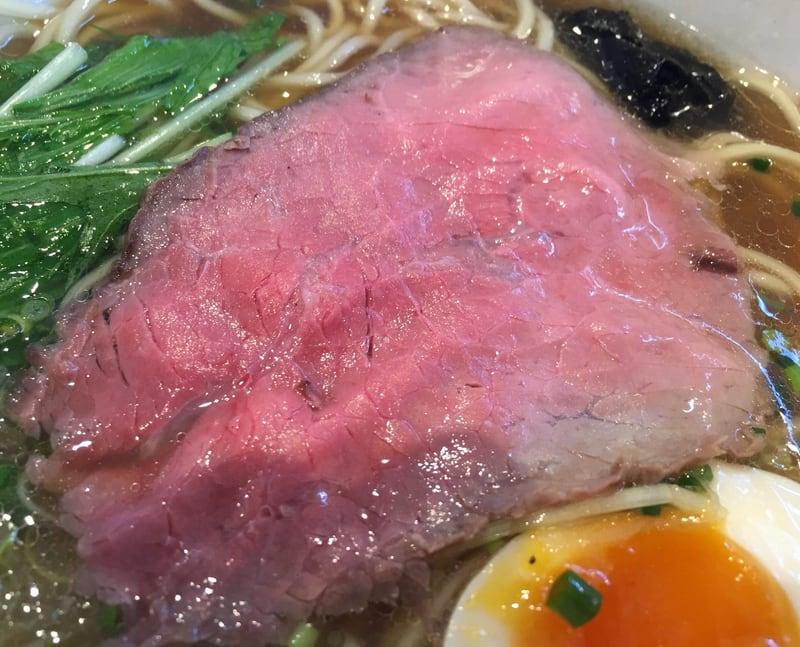 麺屋 小野万 短角牛ラーメン(しょうゆ) 具 ローストビーフ