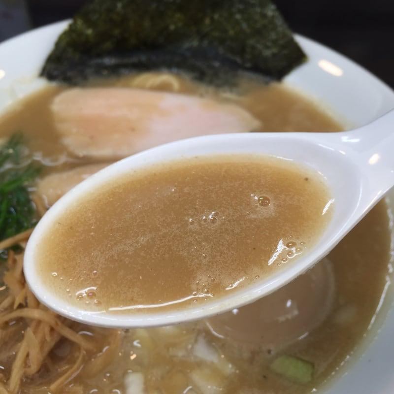 麺屋 満開 鶏白湯煮干そば スープ