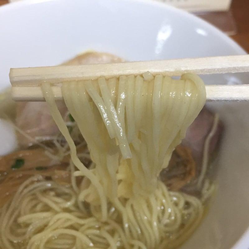 柳麺 多むら 本店 塩ラーメン 麺