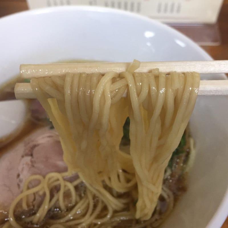 柳麺 多むら 本店 醤油ラーメン 麺