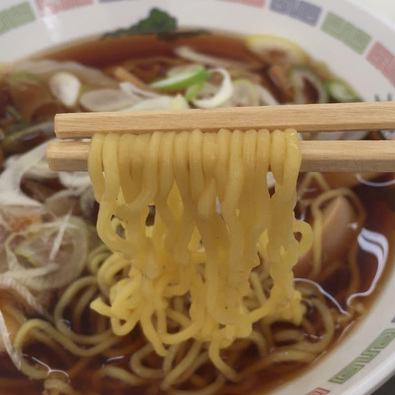 ピノキオ@秋田市御所野(スーパーセンター・アマノ御所野店内フードコート) 中華そば 麺
