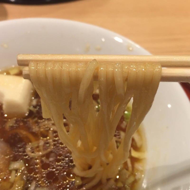 中華そば 依々恋々@東武百貨店 池袋本店 中華そば 麺