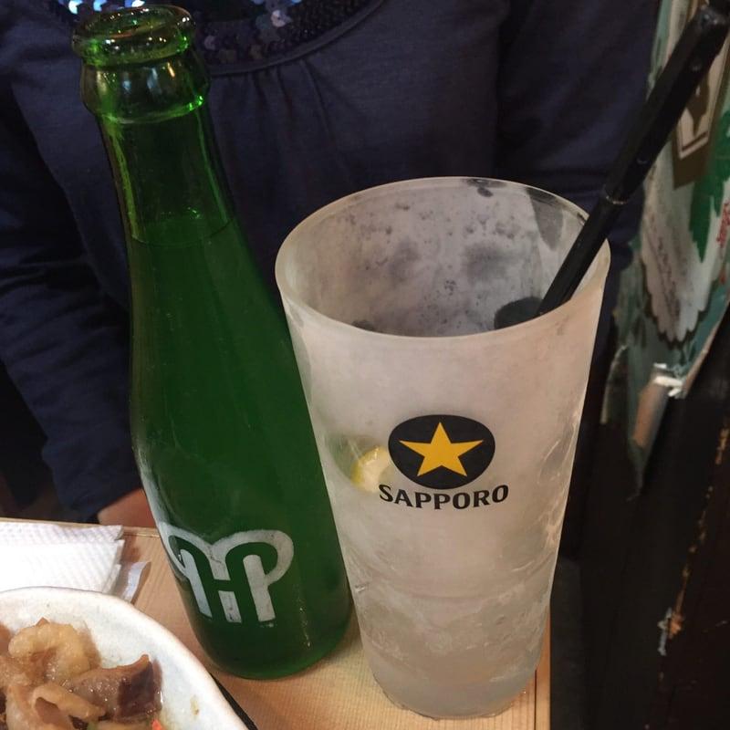 炭火焼まるや 恵比寿横丁店 レモンハイ シャリキン