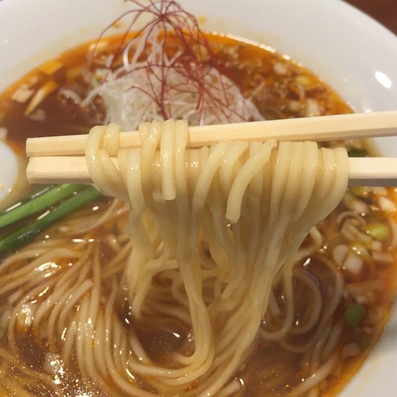柳麺 多むら 外旭川店 辛シビラーメン 麺