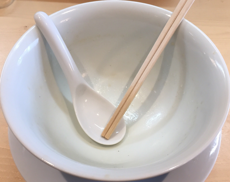 Ramen RyuGuJo(ラーメン 龍宮城) 完食
