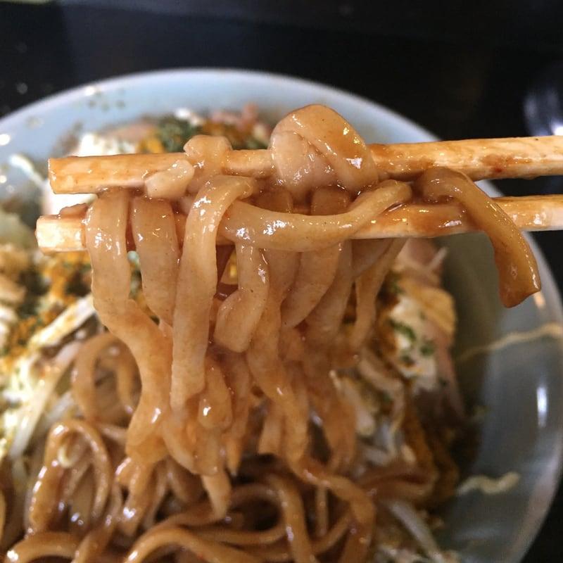 ラーメン マシンガン 汁なし一平さん カレーパウダー 麺