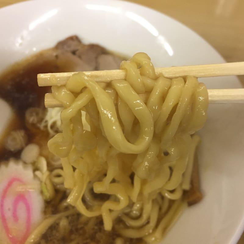 花や@山形県酒田市 煮干し中華そば コラボバージョン 麺