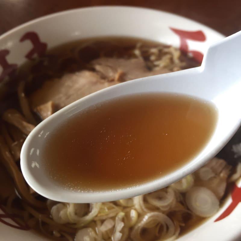 中華そば処 琴平荘 中華そば あっさり スープ