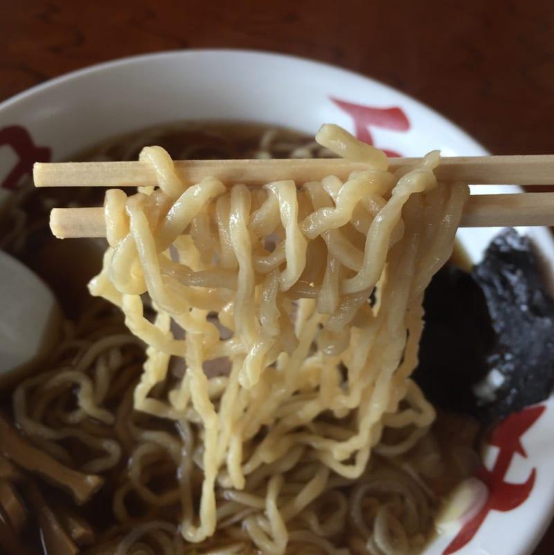中華そば処 琴平荘 中華そば あっさり 麺