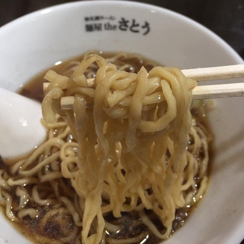 無化調ラーメン 麺屋theさとう しょうゆ 醤油 麺