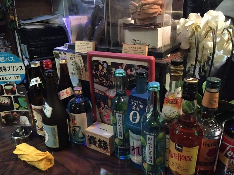 洋酒喫茶 プリンス DEEP八戸 カウンター