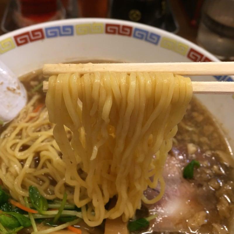 八戸らーめん専門屋台 味のめん匠 鬼煮干コッテリ 麺