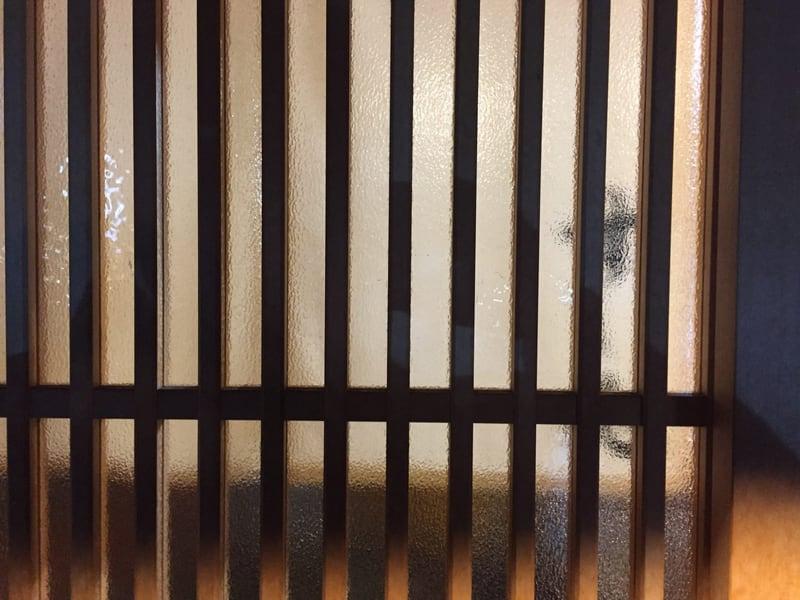 すし兆@秋田市中通 外観 内暖簾