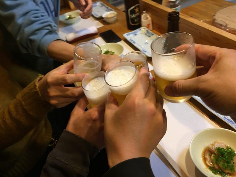 すし兆@秋田市中通 乾杯