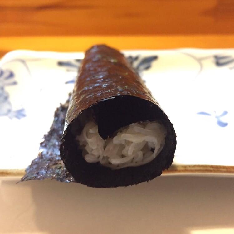 すし兆@秋田市中通 毛蟹 手巻き 海苔巻き