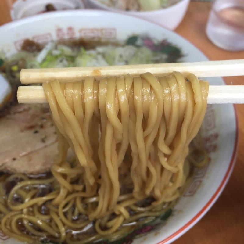 ラーメン陸王 川尻ブラック 麺