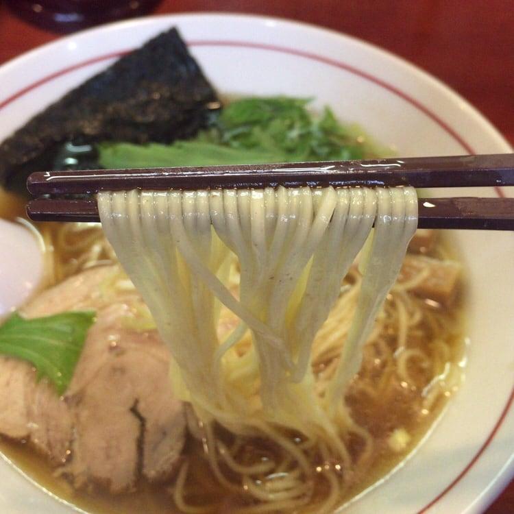 中華そば まるきの中華そば 麺