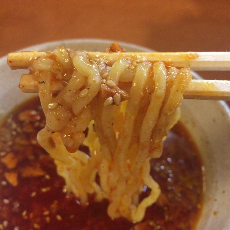 麺や天鳳 大曲店 店長オススメ賄いつけ麺 麺