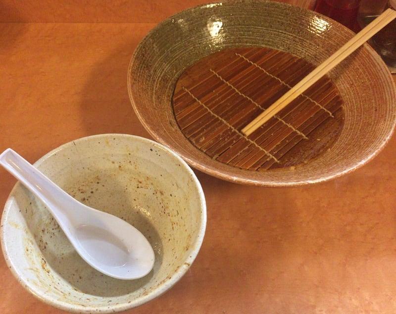 麺や天鳳 大曲店 店長オススメ賄いつけ麺 完食