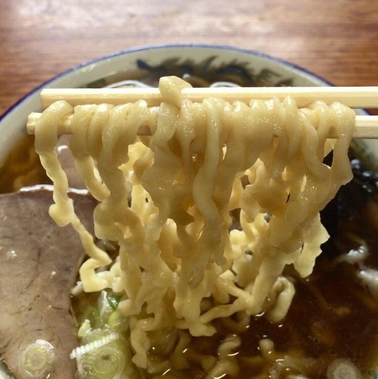 ケンちゃんラーメン 酒田本店 中華そば 麺