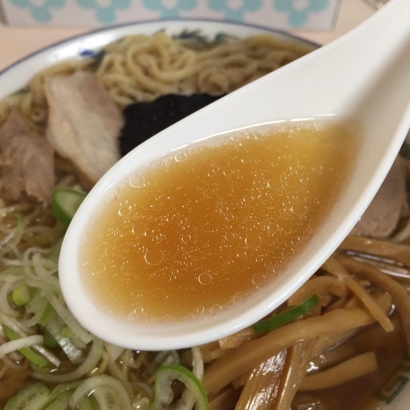 ケンちゃんラーメン 鶴岡店 中華そば スープ