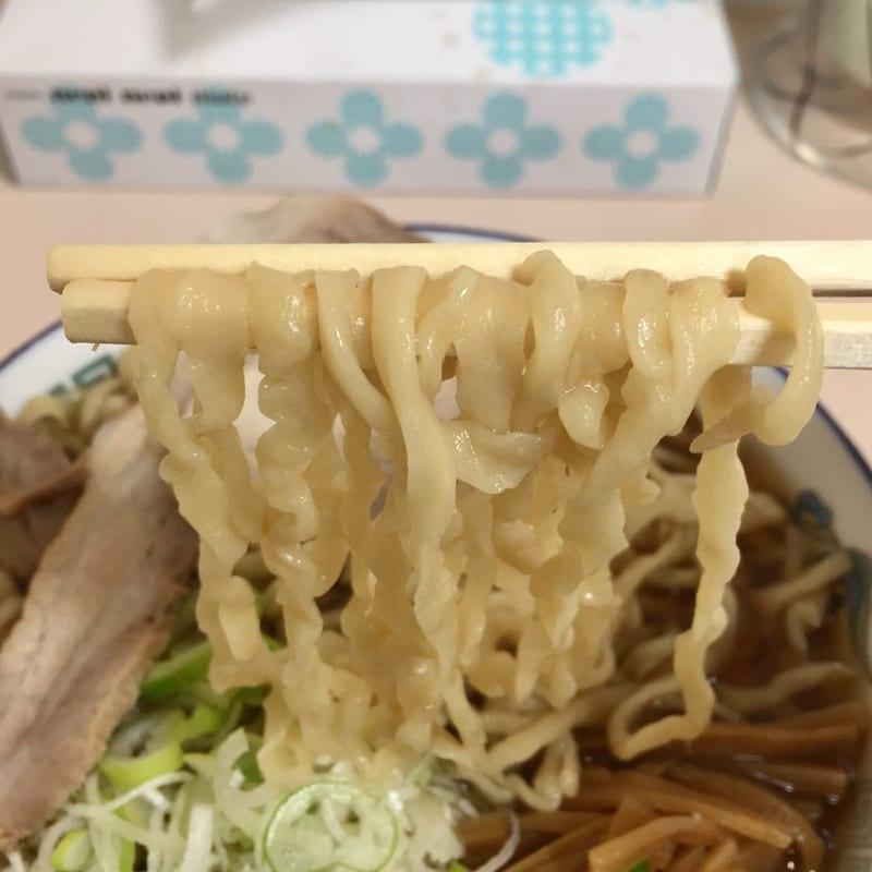ケンちゃんラーメン 鶴岡店 中華そば 麺