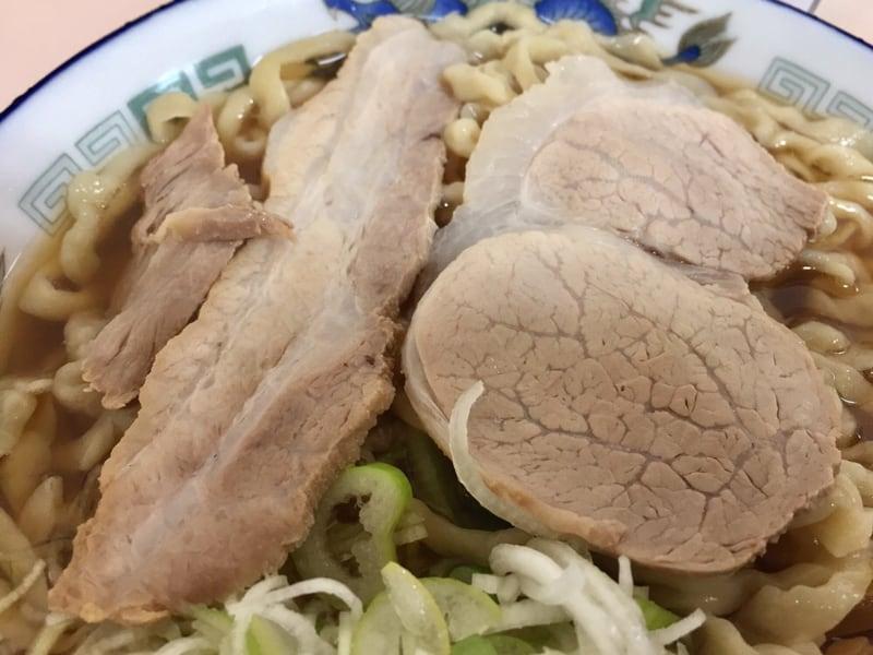 ケンちゃんラーメン 鶴岡店 中華そば 具 チャーシュー