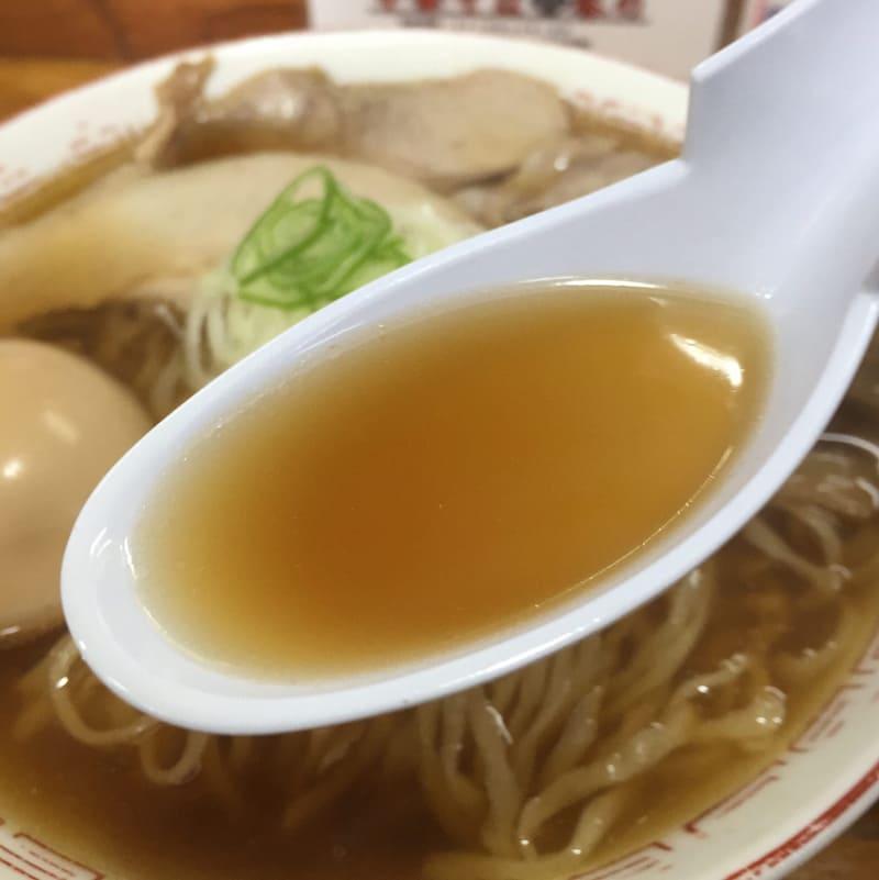 中華そば 琴の 中華そば スープ