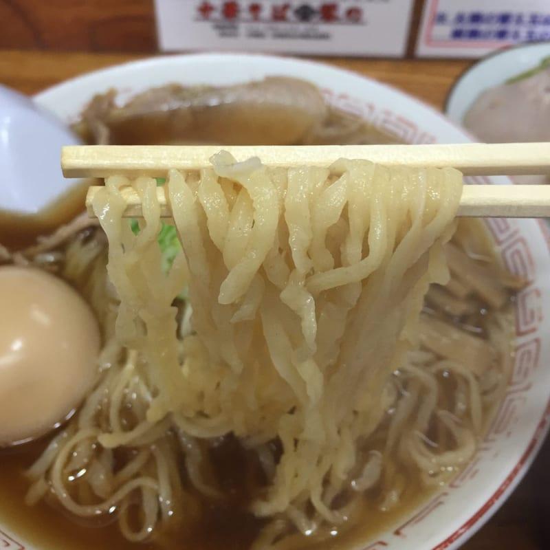 中華そば 琴の 麺