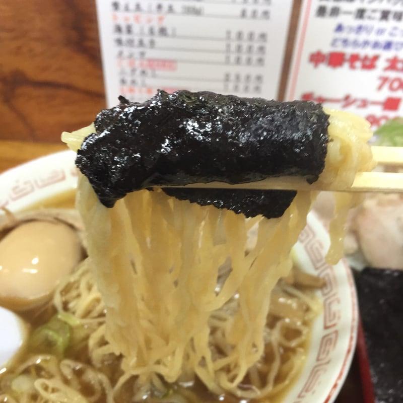 中華そば 琴の 麺 海苔