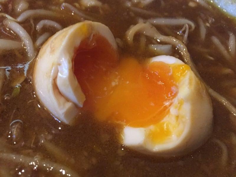 ラーメン マシンガン カレーそば スープ 味玉