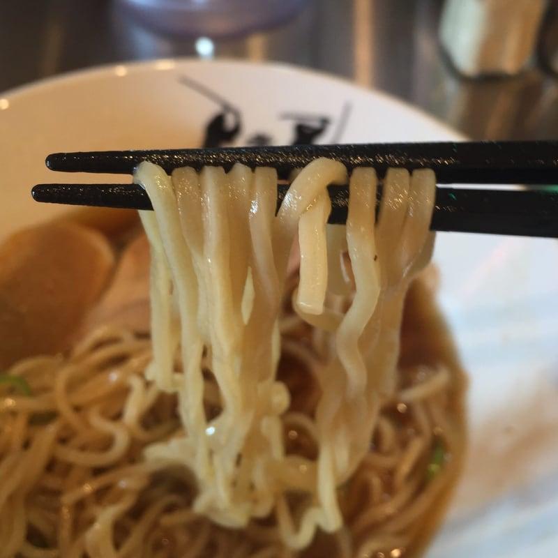 津軽煮干中華蕎麦 サムライブギーの津軽煮干中華蕎麦 麺