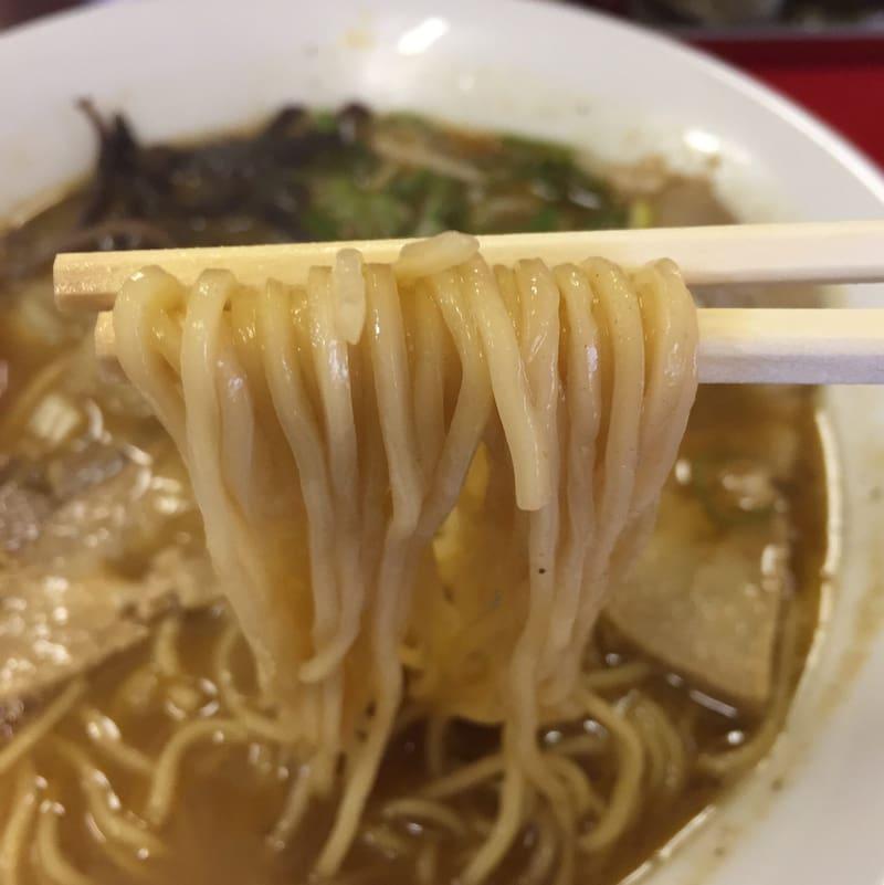 らーめん ジルのラーメン 麺