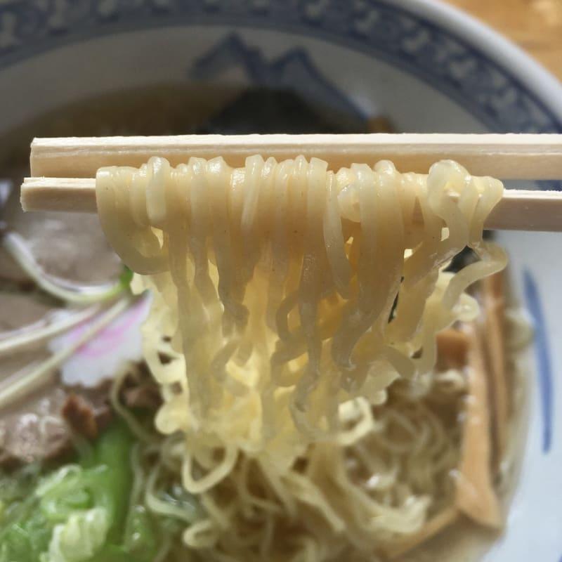 中華そば 一しな 中華そば塩 麺
