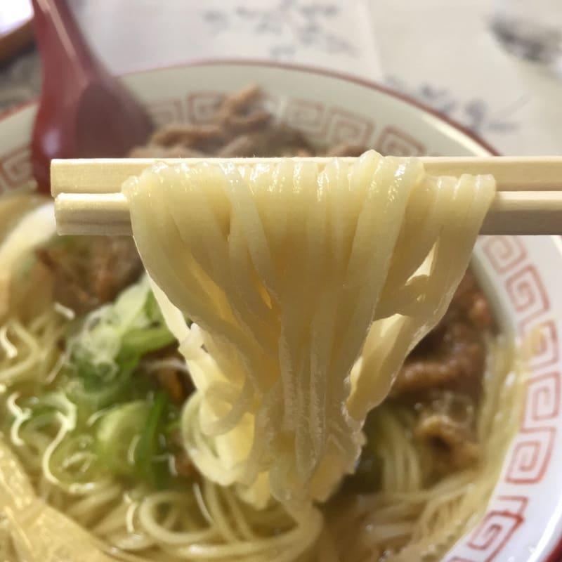 繁昌軒 本店 スタミナラーメン 麺
