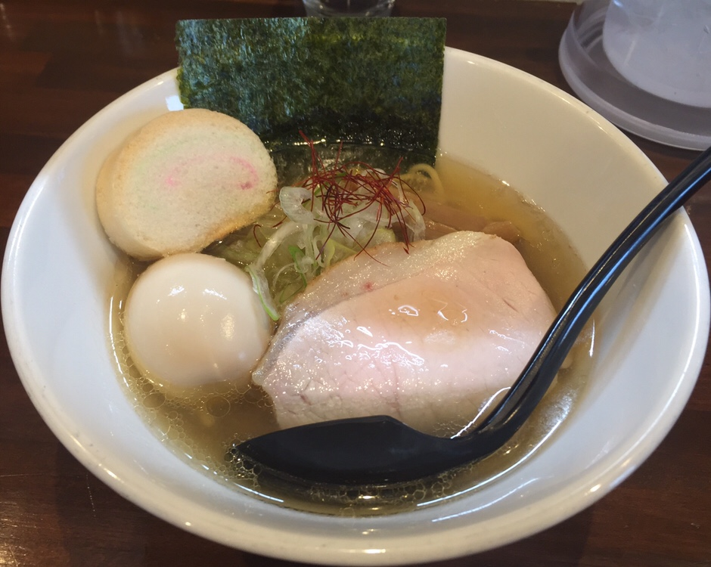 NOODLE SHOP KOUMITEI(香味亭) 煮干し香る中華そば(塩)