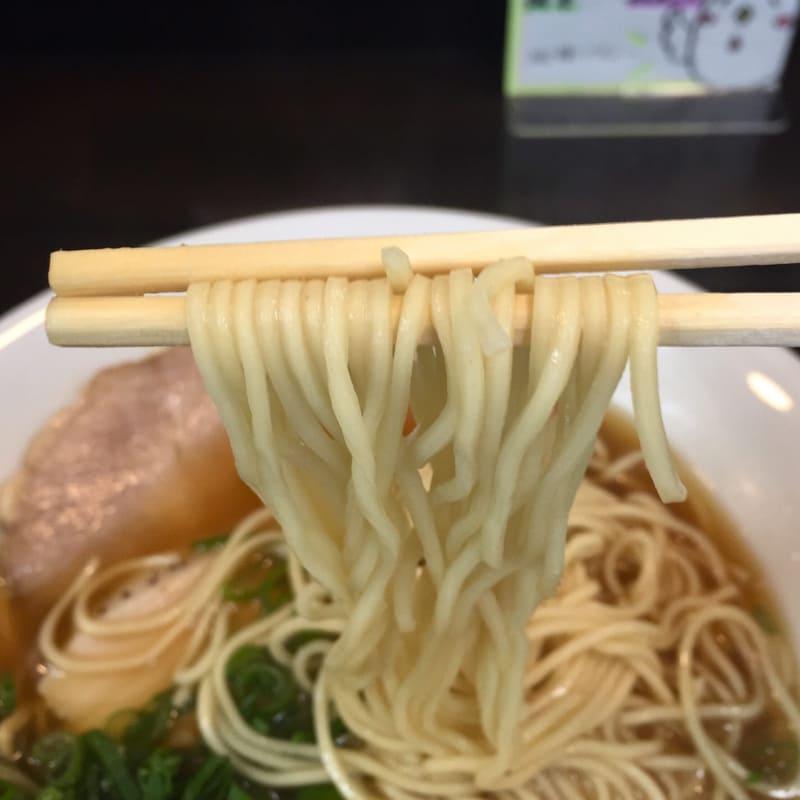 麺屋 満開 生姜醤油 麺