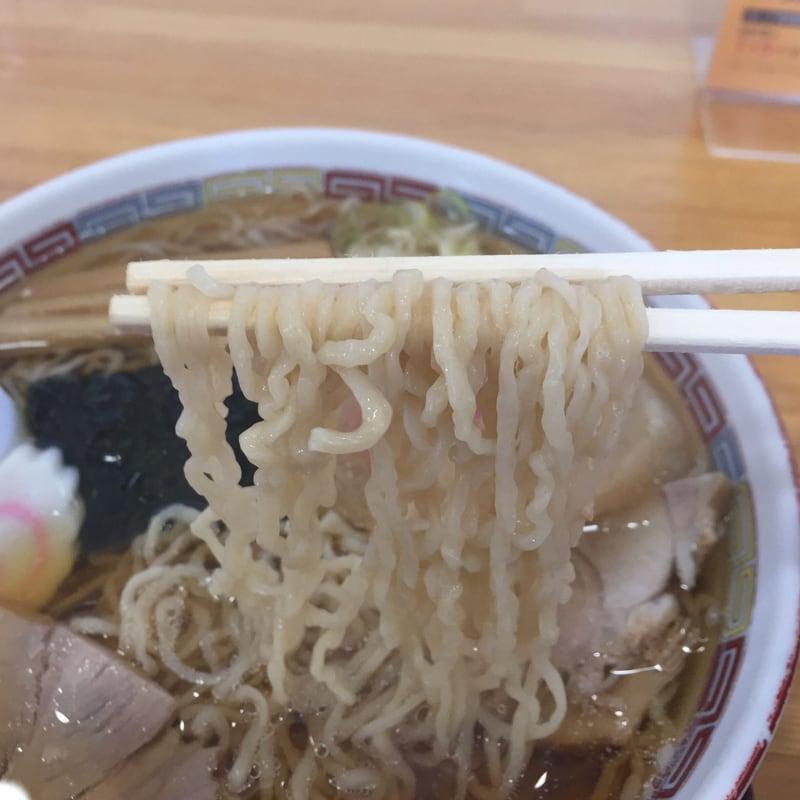 名代三角そばや 横手店 中華そば 麺