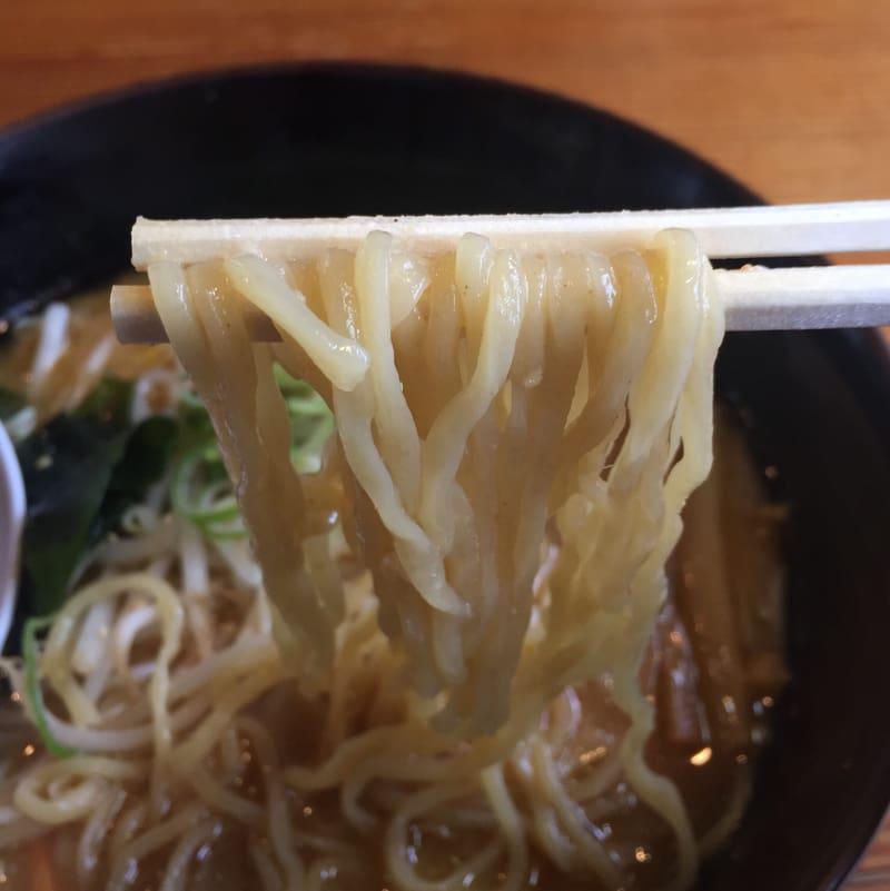 麺工房 かい星 辛味噌ラーメン 麺
