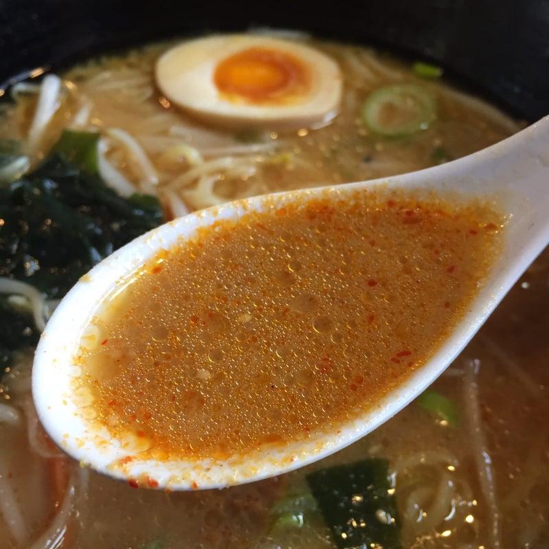 麺工房 かい星 辛味噌ラーメン スープ