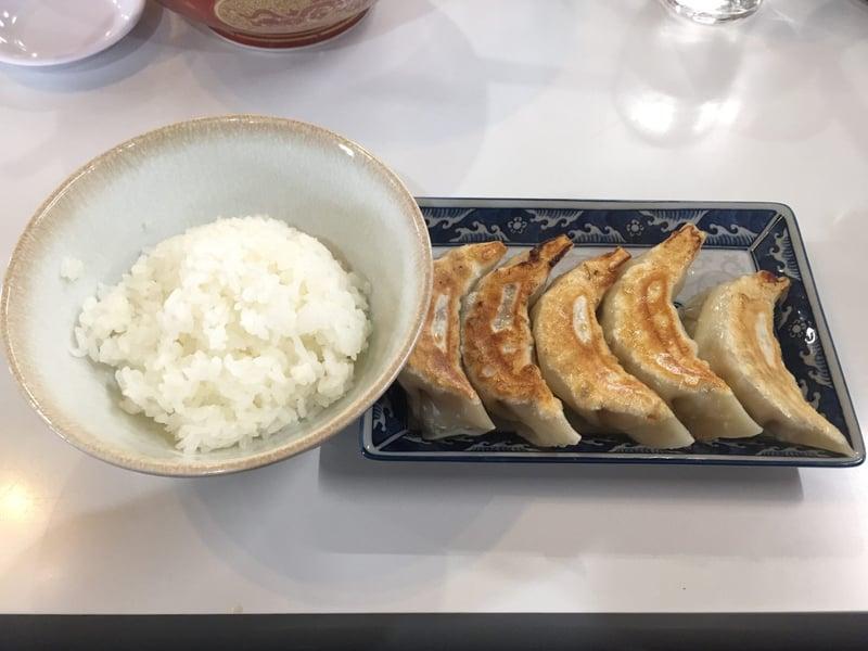 ラーメン神蔵 横手店 焼き餃子 半ライス