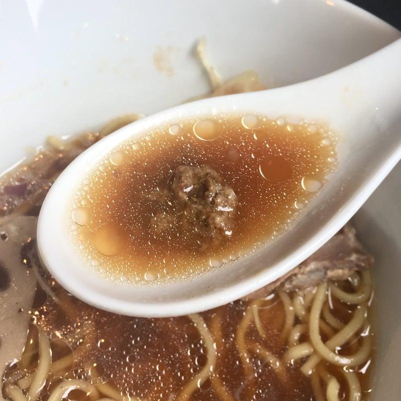 Noodle college SHIROKURO(しろくろ) 醤油Noodle スープ デュクセル