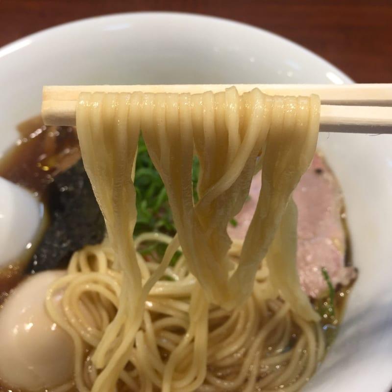 柳麺多むら 外旭川店 醤油ラーメン 麺