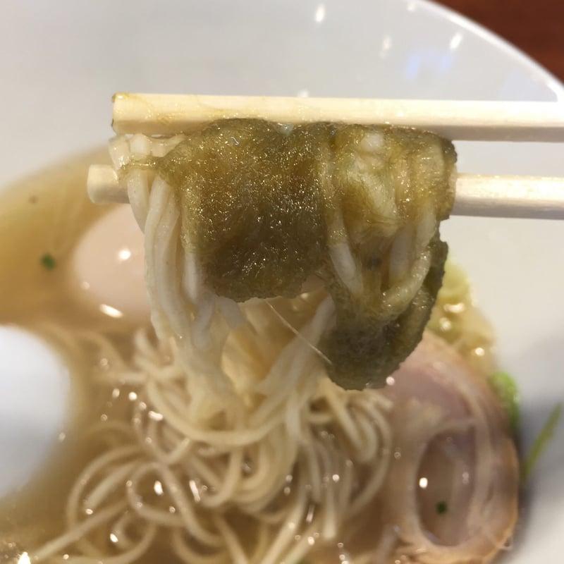 柳麺 多むら 外旭川店 塩ラーメン 蔦 コラボ 麺