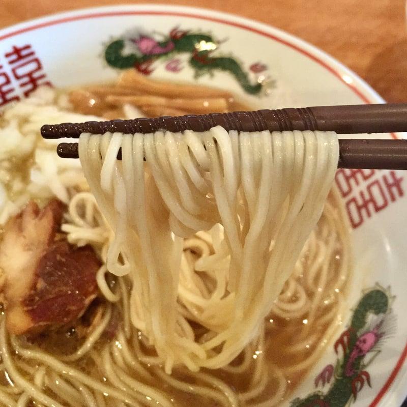 濃厚鶏ガラ 中華そば 東一(あずまいち) 中華そば(チー油入り) 鶏油 麺
