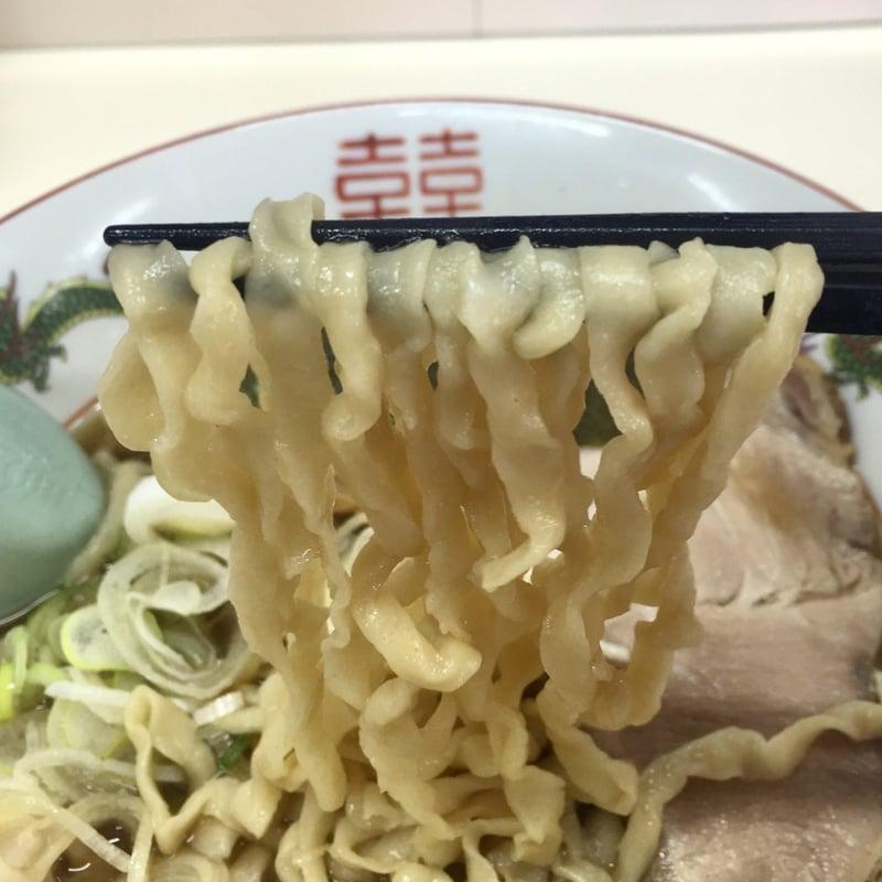 自家製麺 麺屋にぼすけ美郷店 ケソちゃん中華そば 麺