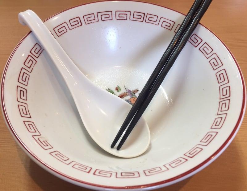 自家製麺 麺や二代目 夜来香 中華ソバ 完食
