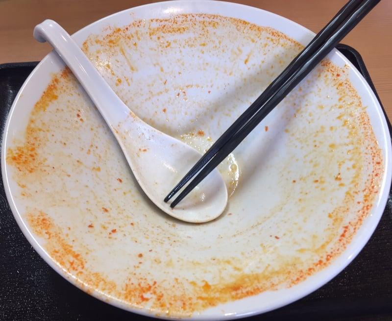 自家製麺 麺や二代目 夜来香 スーラータンメン 完食