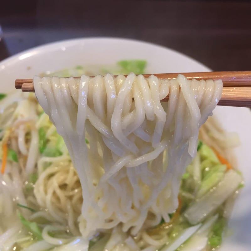 はつね@西荻窪 タンメン 麺